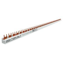3P Phasenschiene Gabel 54-polig 12mm² PS/G Schiene Sammelschiene 80A DV 6602