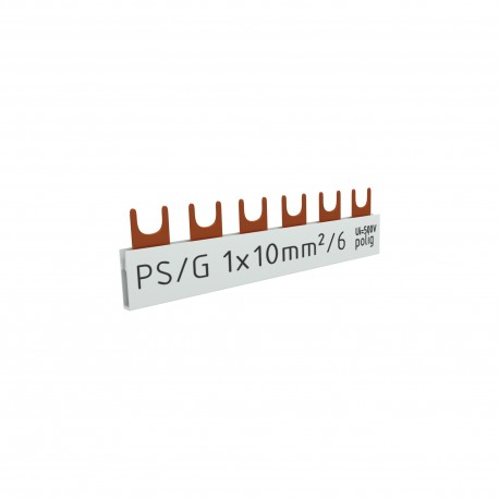 1P Phasenschiene Gabel 6P 10mm2