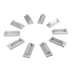 10Stk Endkappe für 1-phasige Phasenschienen 10mm2 Z-10/1F