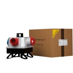 Stromverteiler BAU 1x32A 1x16A 3x230V franz/belg System mit 32A Einbaustecker Typ 1409 Verteilerkasten 2558