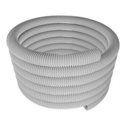 30m Leerrohr Well- Elektro- Rohr Kabelkanal Wellschlauch ⌀32 mm M32 320N grau PVC flexibel ohne Zugdraht RSF 32 Mmt 7670