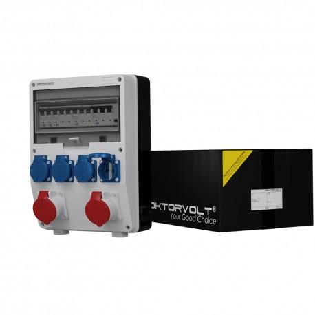 Stromverteiler TD-S/FI 2x16A 4x230