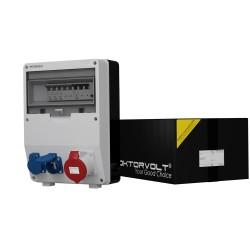 Stromverteiler TD-S/FI 1x32A 2x230V franz/belg System