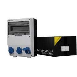 Stromverteiler TD 3x230V Mennekes Doktorvolt® 9009