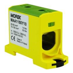 Anschlußklemme 25-150mm2 gelb-grün 1P OTL 150