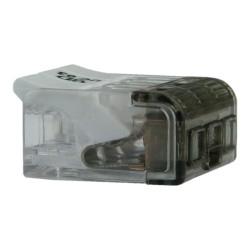 10 Stück Dosenklemmen 3x0,2-4mm2 Verbindungsklemmen Klemmen 450V 32A transparent Bemko 3188