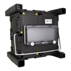 Stromverteiler mit Griff und Betätigungsklappe Minibox 215x215x120 Baustromverteiler TpE 0951