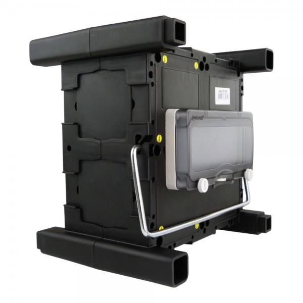 Stromverteiler mit Griff /& Betätigungsklappe Minibox Hängeverteiler TpE 0937