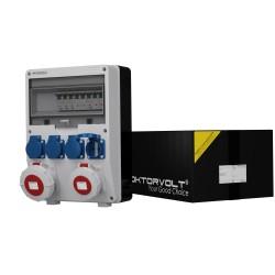 Stromverteiler TD-S 32A 16A 4x230 IP54