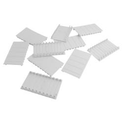 10Stk. Abdeckstreifen 5 Module für Verteilerkasten Stromverteiler 5M DV-0694-ABD5-10 0694
