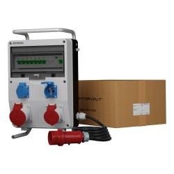 Stromverteiler ECO-S/FI 32A 16A 2x230V franz System Kabel Ständer