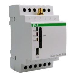 GSM-Fernsteuerungsrelais Temperaturüberwachung