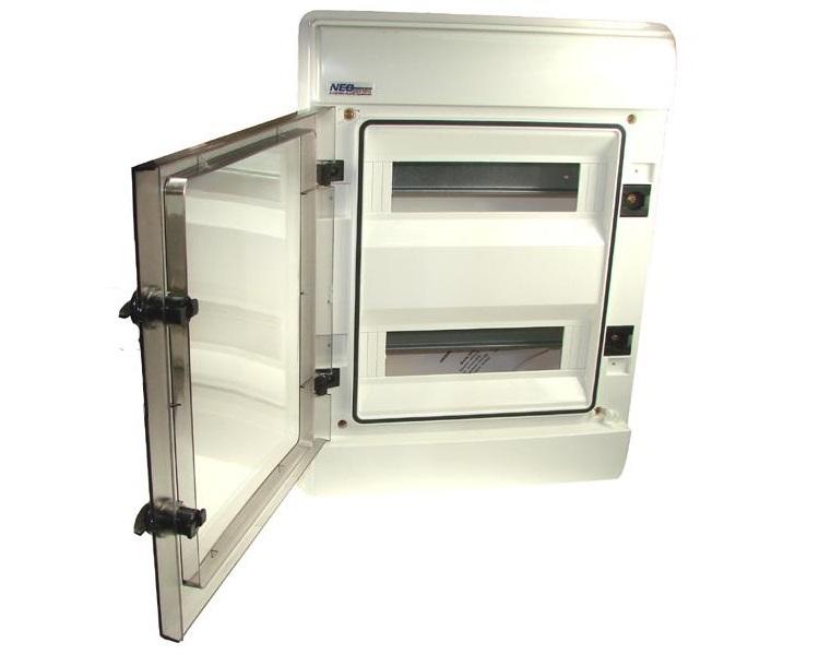 verteilerkasten rhp24sicherungskasten 24module unterputz up ip65 vde. Black Bedroom Furniture Sets. Home Design Ideas