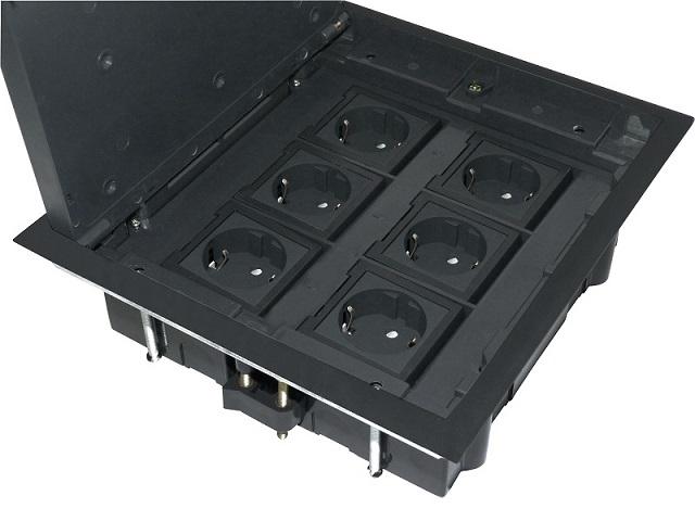 sortie inf rieure pd 12 prises en 6 sens prise de courant. Black Bedroom Furniture Sets. Home Design Ideas