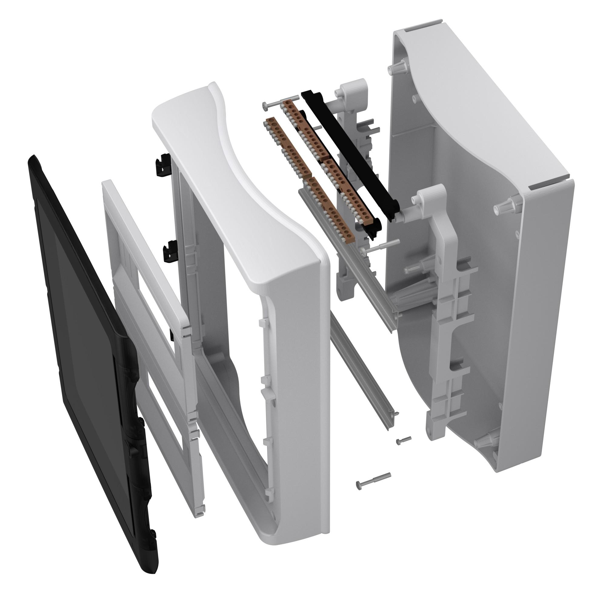 feuchtraumverteiler 24 Module