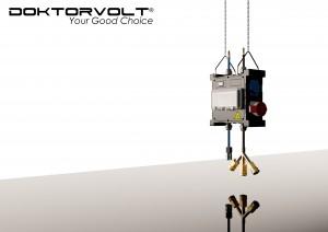 MOBIL Stromverteiler mit Wasser- und Pneumatik- Anschluß