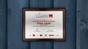 Preis-Zone Auszeichnung in Polen