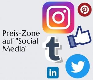 """Preis-Zone auf ,,Social Media""""!"""
