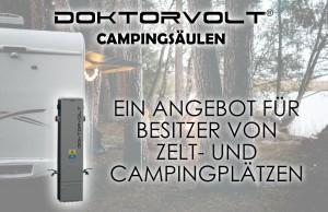 DOKTORVOLT Campingsäulen– ein Angebot für Besitzer von Zelt- und Campingplätzen